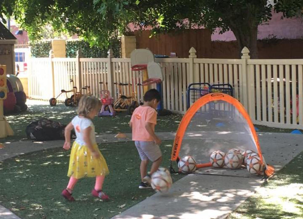 Building Skills With Soccer